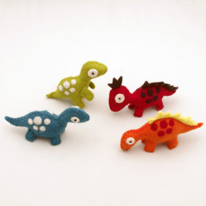 Dinosaurier 4-pack